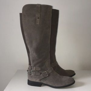 Marc Fisher tall boots wide calf